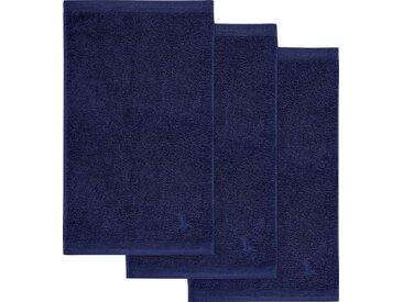 Möve Gästehandtücher »Superwuschel«, in kräftigen Farben, blau, dunkelblau