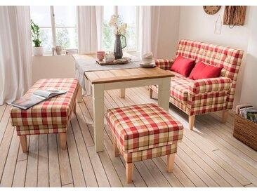Home affaire Küchensofa »Scalea«, mit Federkern, inkl. Zierkissen, rot, 147 cm, rot