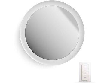 Philips Hue , Spiegelleuchte »White Amb. Adore Spiegel mit Beleuchtung weiß 2400lm«, weiß, H:5,1 cm, 1 -flg. /, weiß