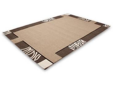 LALEE Teppich »Modern 103«, rechteckig, Höhe 15 mm, natur, 15 mm, karamell