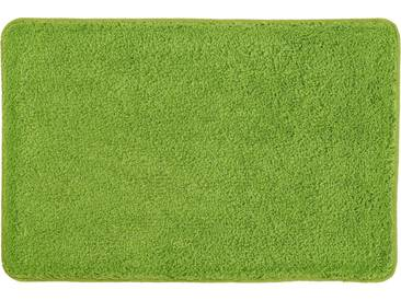 Kleine Wolke Badematte »Trend« , Höhe 35 mm, schnell trocknend, rutschhemmend beschichtet, fußbodenheizungsgeeignet, grün, 35 mm, kiwigrün