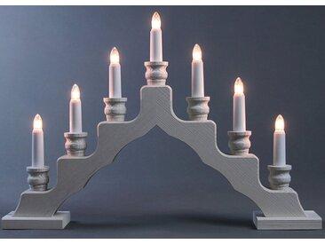 Weigla Lichterbogen »Schwede«, 7-flammig, weiß, weiß
