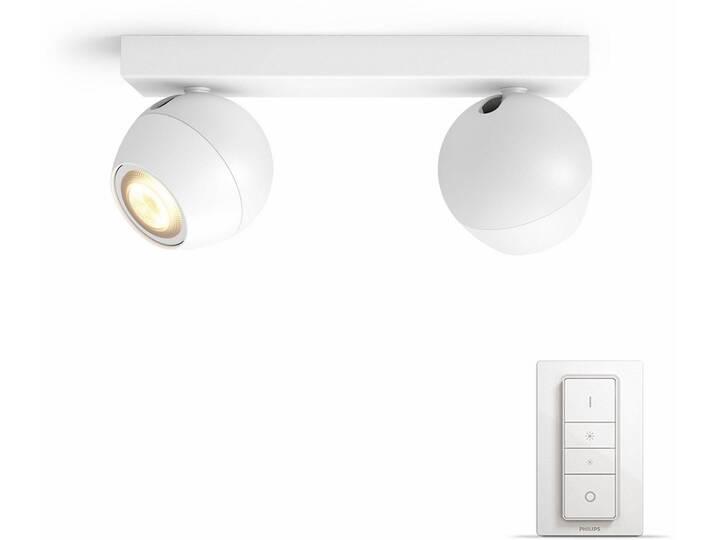 Philips Hue LED Spot Buckram weiß 2flg. inkl. D...