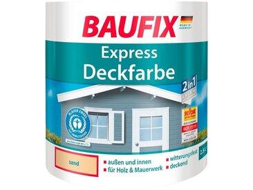 Baufix BAUFIX Buntlack express Deckfarbe beige, 2,5 L, natur, 2.5 l, sand