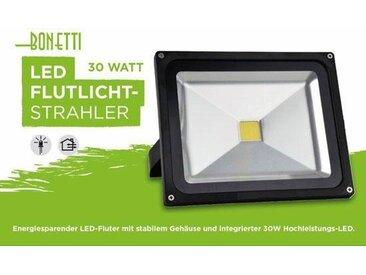 LED Flutlichtstrahler, schwarz, H:18,5 cm, schwarz
