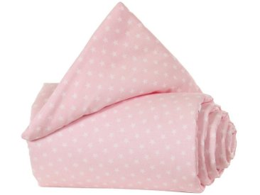 Tobi Gitterschutz Organic Cotton für Verschlussgitter alle babyba, rosa, rosa/weiß