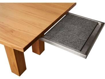 VENJAKOB Granitplatte auf Aluminium-Auszug, silberfarben, für Tische 90 cm breit, silberfarben