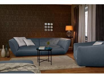 Guido Maria Kretschmer Home&Living GMK Home & Living Megasofa »Nida«, inklusive Zierkissen, grau, anthrazit/beige
