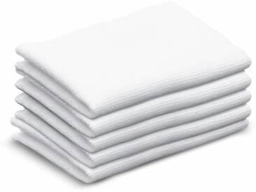 KÄRCHER Reinigungszubehör »Ftee Tücher schmal«, weiß, white