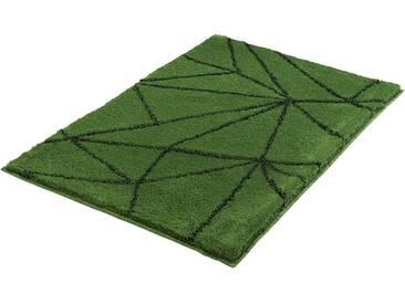 Kleine Wolke Badematte »Nizza« , Höhe 20 mm, rutschhemmend beschichtet, fußbodenheizungsgeeignet, grün, 20 mm, tanne
