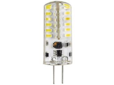 Xavax LED-Lampe, G4, 180lm ersetzt 19W Stiftsockellampe, G4, Warmweiß, silberfarben, Silber
