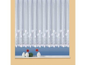 Weckbrodt Gardine »Flowers«, Kräuselband (1 Stück)