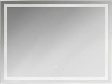 jokey KRISTALLFORM Spiegel »FrameLight III«, 80 x 60 cm, LED, silberfarben, silber