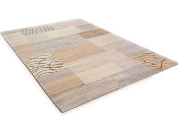THEKO Teppich »Nakarta 2«, rechteckig, Höhe 16 mm, handgeknüpft, natur, 16 mm, beige