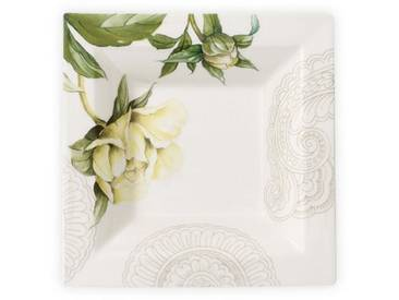 Villeroy & Boch Schale Quadrat »Quinsai Garden Gifts«, bunt, 14x14cm, bunt,grün