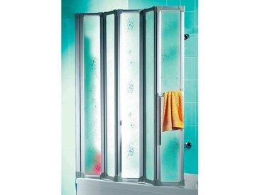 Schulte SCHULTE Badewannenaufsatz »Luxus«, silberfarben, alufarben