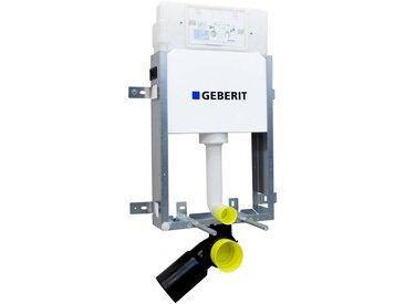 GEBERIT Vorwandelement für WC »UP320 Kombifix basic«, Wandeinbau-Spülkasten, weiß/blau