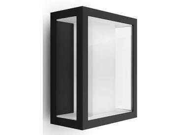Philips Hue LED Außen-Wandleuchte »Impress«, 1-flammig, schwarz, 1 -flg. /, schwarz