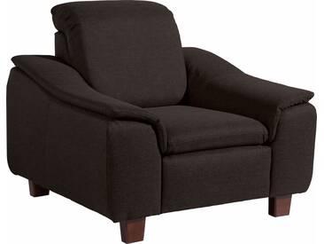 Max Winzer® Sessel »Alessio« mit abgerundeter Rückenlehne, braun, schoko