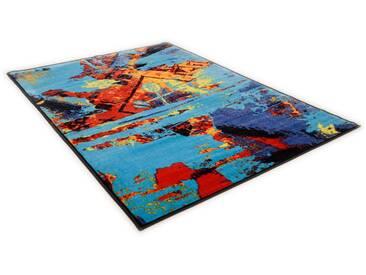 THEKO Teppich »Sydney 800«, rechteckig, Höhe 10 mm, blau, 10 mm, blau