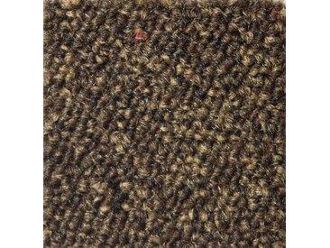 Teppichfliese »Austin«, 4 Stück (1 m²), selbstliegend, braun, braun