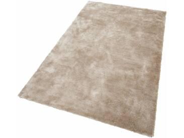 Bruno Banani Hochflor-Teppich »Dana«, rechteckig, Höhe 30 mm, natur, 30 mm, beige