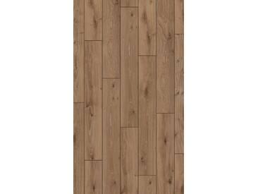 PARADOR Laminat »Classic 1050 - Eiche dunkel-gekälkt«, 1285 x 194 mm, Stärke: 8 mm, braun, braun