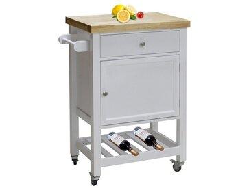 HTI-Line Küchenwagen Blanca M, weiß, Weiß