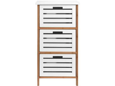 BUTLERS WHITE SANDS »Regal mit Türen«, Breite 45 x Tiefe 30 x