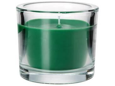 BUTLERS SCENTS »Duftkerze im Glas Vanille«, gruen, Ø 8 cm, Höhe 8 cm
