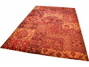 THEKO Teppich »Timeless 3«, rechteckig, Höhe 12 mm, rot, 12 mm, bordeaux