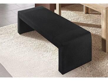 Max Winzer® Hockerbank »Noah«, schwarz, Breite 130 cm, schwarz