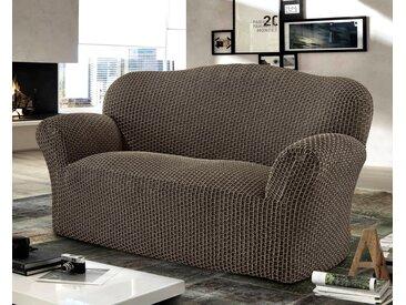 GAICO Sofahusse »Scacco«, mit moderner 3D-Struktur, braun, 2-Sitzer, braun