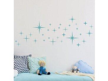 Bilderwelten Wandtattoo »Sternenhimmel Set«, braun, kupfer