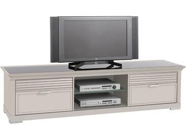 SELVA TV-Lowboard »Luna« Model 5233 , mit dekorativen Fräsungen, natur, elfenbeinfarbig