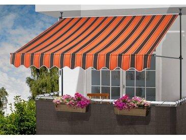 KONIFERA Klemmmarkise Breite: 300 cm; in versch. Farben, orange, 300 cm, orange