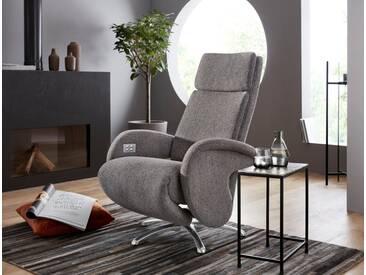 W.SCHILLIG Relaxsessel »jupiter« mit Sternfuß, grau, grey S22