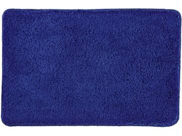 Kleine Wolke Badematte »Trend« , Höhe 35 mm, schnell trocknend, rutschhemmend beschichtet, fußbodenheizungsgeeignet, blau, 35 mm, kobalt-blau