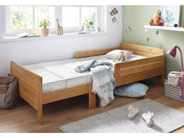 Breckle Kindermatratze zum Mitwachsen (3-tlg.), weiß, 90x140 bis 90x200 cm