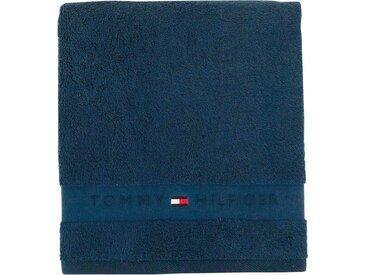 TOMMY HILFIGER Gästehandtücher »Frotteeuni«, in vielen Farben erhältlich, blau, Walkfrottee, jeans