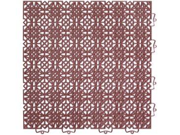 Andiamo ANDIAMO Klick-Fliesen »Terra Sol«, 7 Stk., BxL: je 38x38 cm, orange, orange