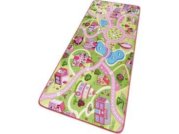 HANSE Home Kinderteppich »Sweettown«, rechteckig, Höhe 7 mm, Kinder Straßen-Spielteppich, Kurzflor
