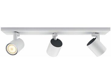 Philips Hue LED Deckenstrahler »Runner«, 3-flammig, Smart Home, weiß, 3 -flg. /, weiß