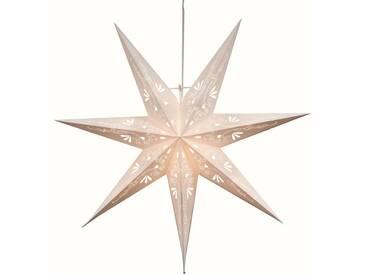 STAR Star Papierstern zum Hängen, mit Kabel »Metasol«, weiß, Breite x Tiefe x Höhe in cm : 70 x 15,7 x 65, Weiß
