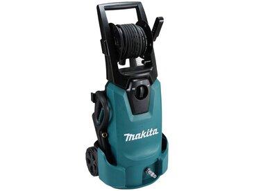 Makita MAKITA Hochdruckreiniger »HW1300«, 130 bar, integrierte Schlauchtrommel, IPX5 Schutzisolierung, blau, blau