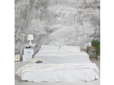 Bilderwelten Vliestapete Breit »Industrie-look Betonoptik«, grau, 190x288 cm, Grau