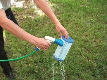 Bestway BESTWAY Ersatzfilterkartusche »Flowclear™«, 2Stk. Größe 2, ØxH 10,6x13,6 cm, blau, 10,6 cm, blau