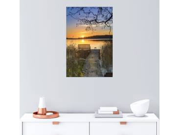 Posterlounge Wandbild - Dennis Siebert »Morgentliche Ruhe«, bunt, Alu-Dibond, 120 x 180 cm, bunt