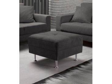 INOSIGN Hocker »Style« in drei Bezugsqualitäten, grau, grau