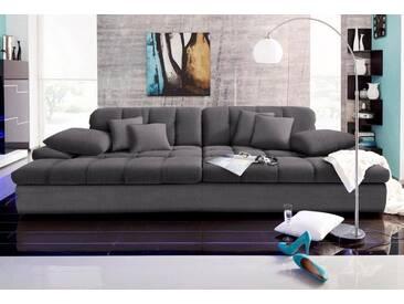 Nova Via Big-Sofa, grau, 318 cm, anthrazit/grau